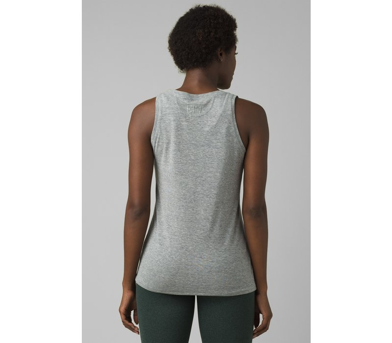 PrAna Cozy Up Tank - Heather Grey