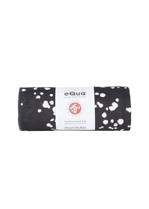 Manduka Manduka eQua Towel 182cm 67cm - Mini Dot Black