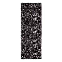 Manduka eQua Towel 182cm 67cm - Mini Dot Black