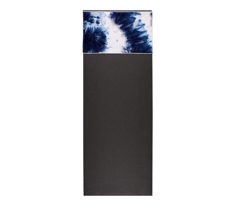 Manduka eQua Hand Towel 40cm 67cm - Camo Navy Tie Dye