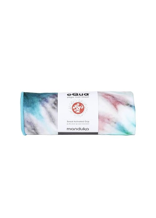 Manduka Manduka eQua Towel 182cm 67cm - Eclipse Dye Caribbean