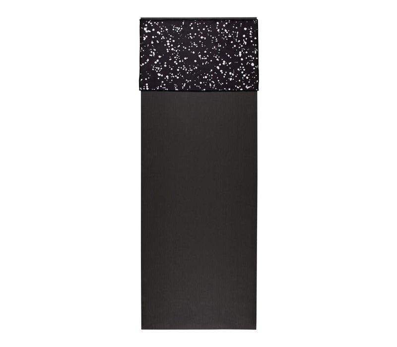 Manduka eQua Handdoek 40cm 67cm - Mini Dot Black