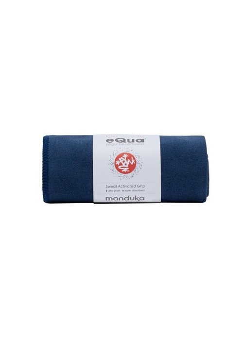 Manduka Manduka eQua Hand Yoga Towel 40cm 67cm - Midnight