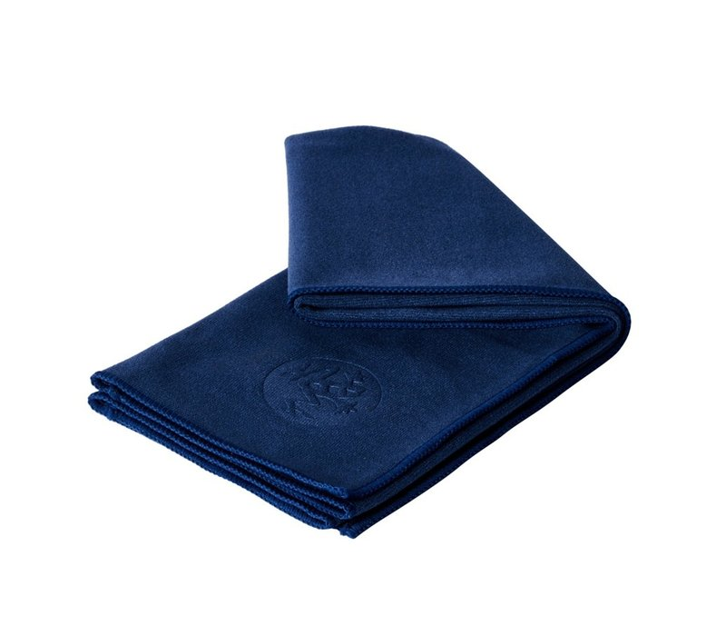 Manduka eQua Hand Yoga Towel 40cm 67cm - Midnight