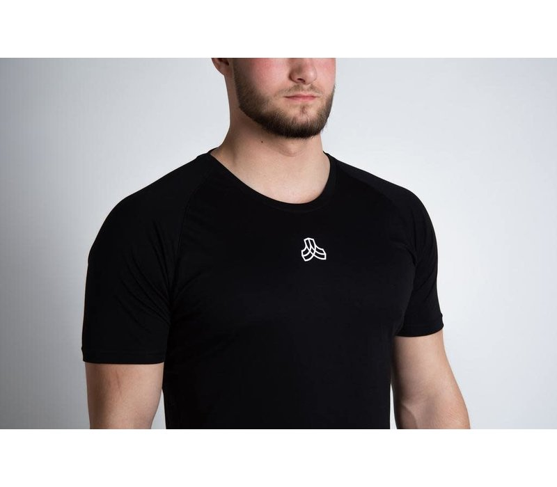 Iron Roots Eucalyptus Performance T-Shirt - Black