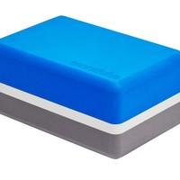 Manduka Recycled Foam Yoga Blok - Be Bold Blue