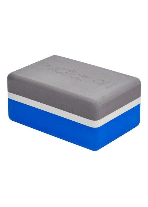 Manduka Manduka Recycled Foam Yoga Block - Be Bold Blue