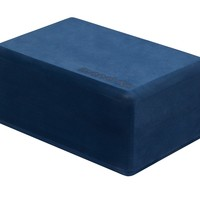 Manduka Recycled Foam Yoga Block - Midnight