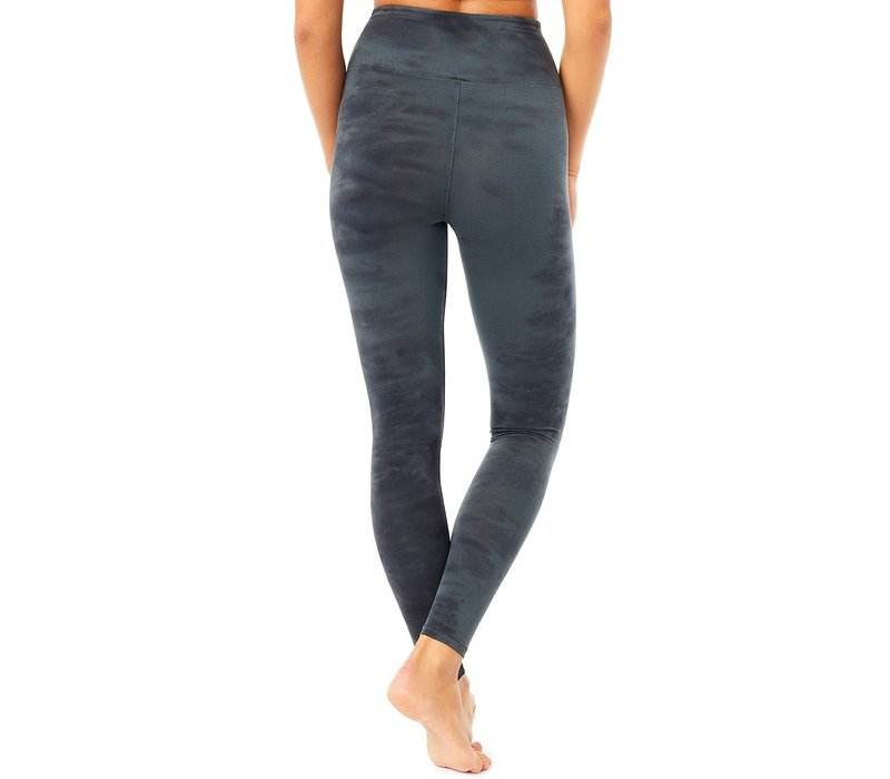 Mandala Batik Legging - Black Saphire
