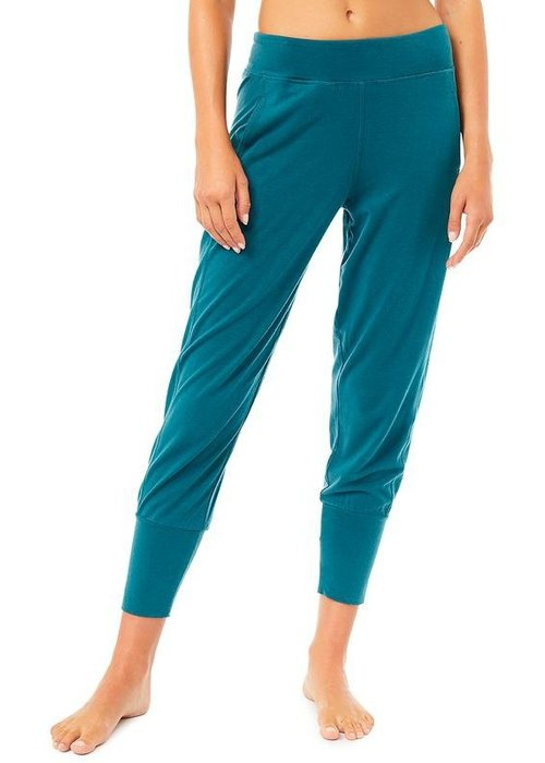 Mandala Mandala Cropped Pants - Tropical Green