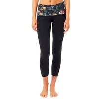 Mandala Fold Over Legging - Mille Fleurs