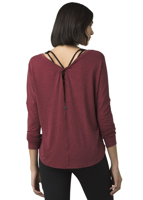 PrAna PrAna Rogue Long Sleeve Top - Spiced Wine