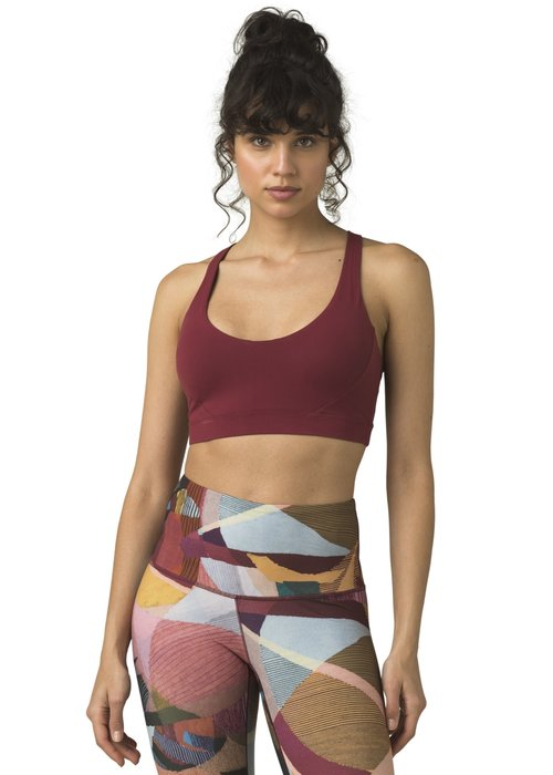 PrAna PrAna Everyday Bra - Spiced Wine