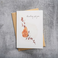 A Beautiful Story Greeting Card - Butterfly Watercolour