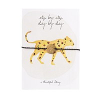 A Beautiful Story Jewelry Post Card - Leopard