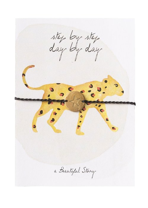 A Beautiful Story A Beautiful Story Jewelry Post Card - Leopard