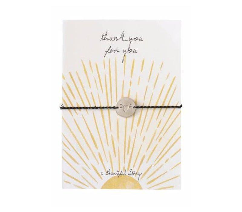 A Beautiful Story Jewelry Post Card - Sunshine