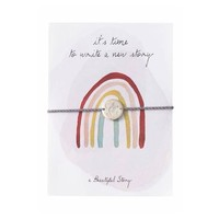 A Beautiful Story Jewelry Post Card - Rainbow