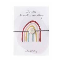A Beautiful Story Sieraden Ansichtkaart - Rainbow