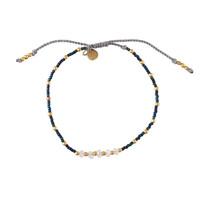 A Beautiful Story Family Gold Bracelet - Moonstone