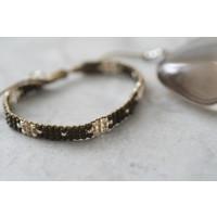 A Beautiful Story Summerlight Silver Bracelet - Smokey Quartz