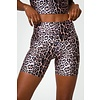 Onzie Onzie High Rise Mini Biker Short - Leopard