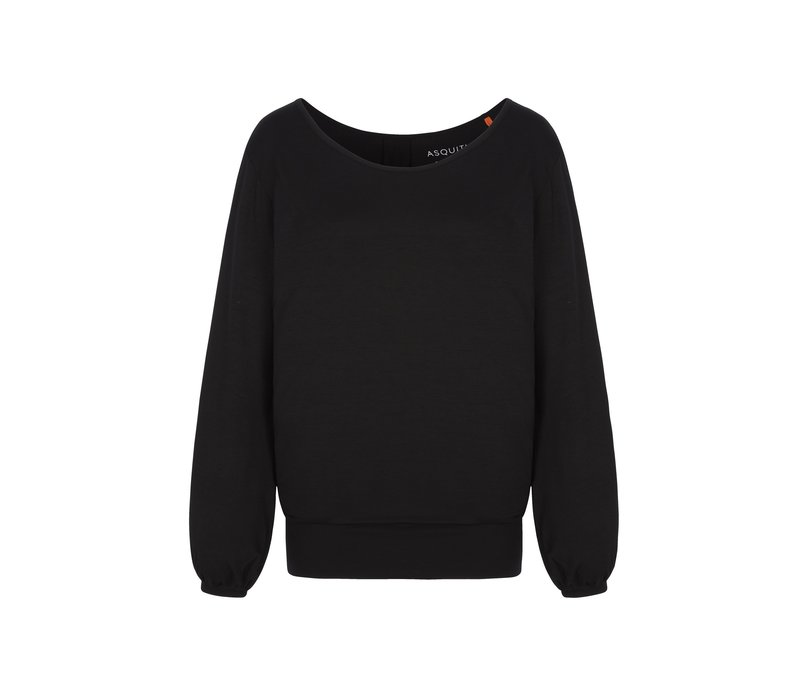 Asquith Long Sleeve Smooth You Tee - Black