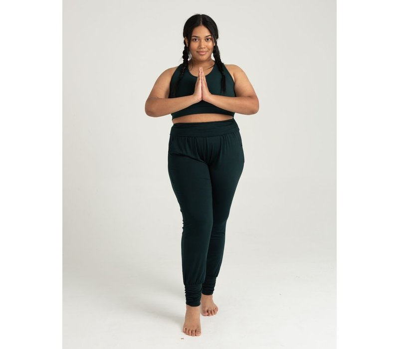 Asquith Long Harem Pants - Forest