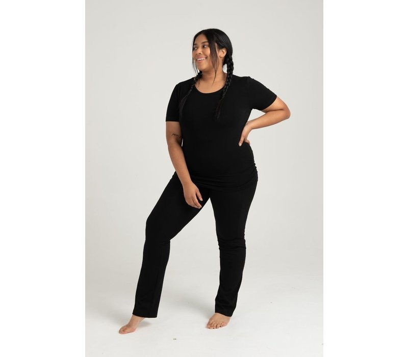 Asquith Live Fast Pants Jet Black