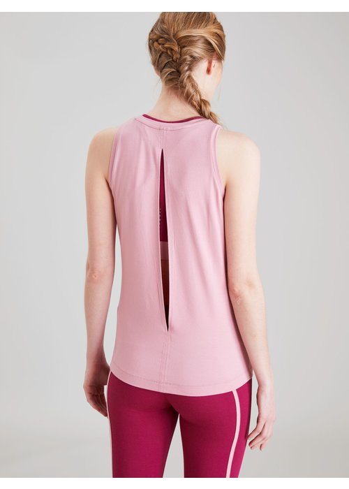 Asquith Asquith Diamond Back Vest - Dusty Pink