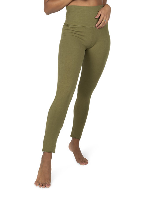 Sweetskins Sweetskins High Waist Leggings - Olive