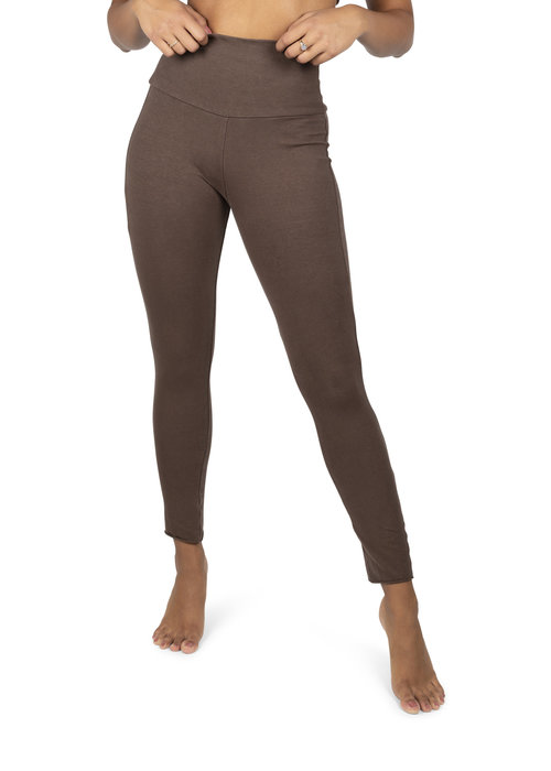 Sweetskins Sweetskins High Waist Leggings - Wood