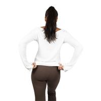 Sweetskins Long Sleeve Scoop T-Shirt - Natural