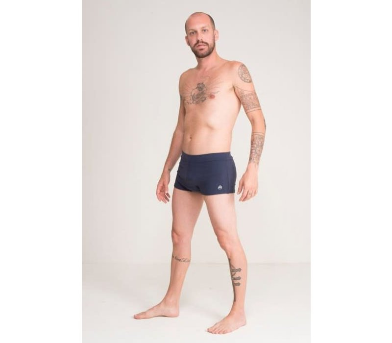 Shakti Activewear Brazilian Trunks - Navy
