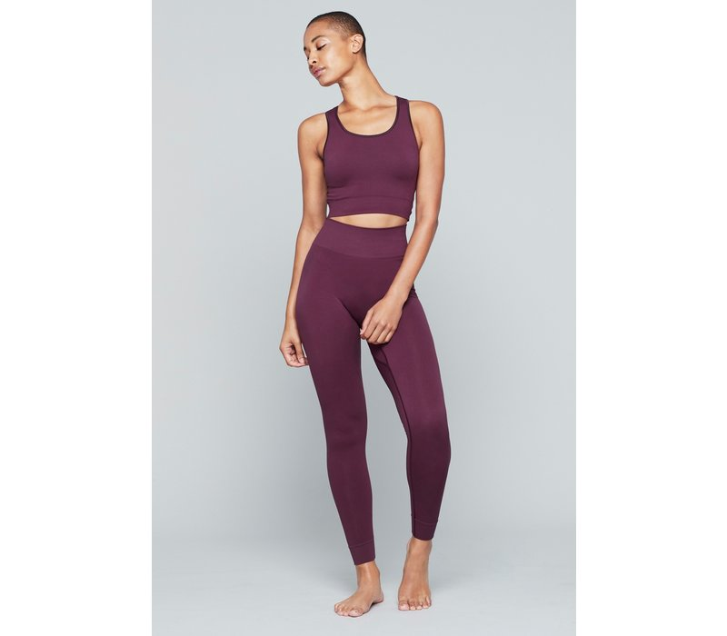 Moonchild Yoga Wear Supernova Twisted Top - Fig