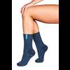 Soxs Soxs Women's Socks - Dark Blue/St. Tropez Blue Half High