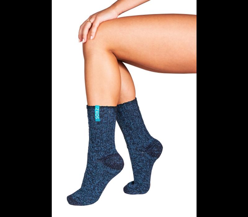 Soxs Damen Socken - Dark Blue/St. Tropez Blue Half High