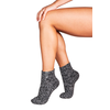 Soxs Soxs Damen Anti-Rutsch-Socken - Dark Grey/Silver Star Low