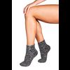 Soxs Soxs Women's Anti Slip Socks - Dark Grey/Silver Star Low