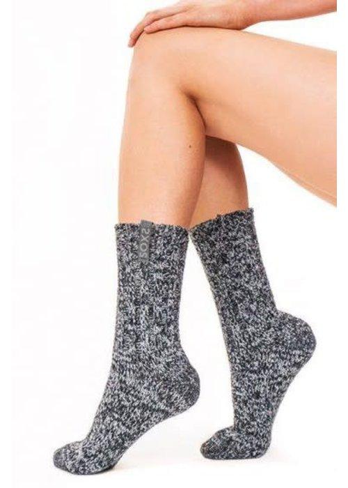 Soxs Soxs Damen Socken - Dark Grey/Night Sky Half High