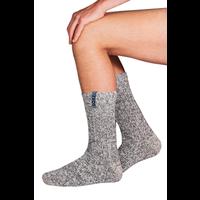 Soxs Herren Anti-Rutsch-Socken - Grey/Moon Mist Half High