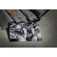 Soxs Heren Antislip Sokken - Grey/Moon Mist Half High