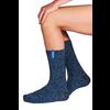 Soxs Soxs Herren Socken - Dark Blue/Miami Blue Half High