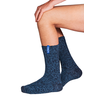 Soxs Soxs Men's Socks - Dark Blue/Miami Blue Half High