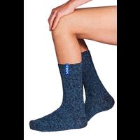 Soxs Herren Socken - Dark Blue/Miami Blue Half High