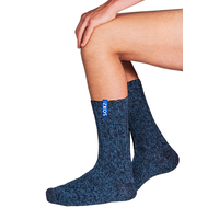 Soxs Men's Socks - Dark Blue/Miami Blue Half High