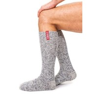 Soxs Men's Socks - Grey/Skull Knee High