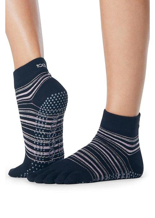 Toesox Toesox Yoga Sokken Enkelhoogte Dichte Tenen - Earthly
