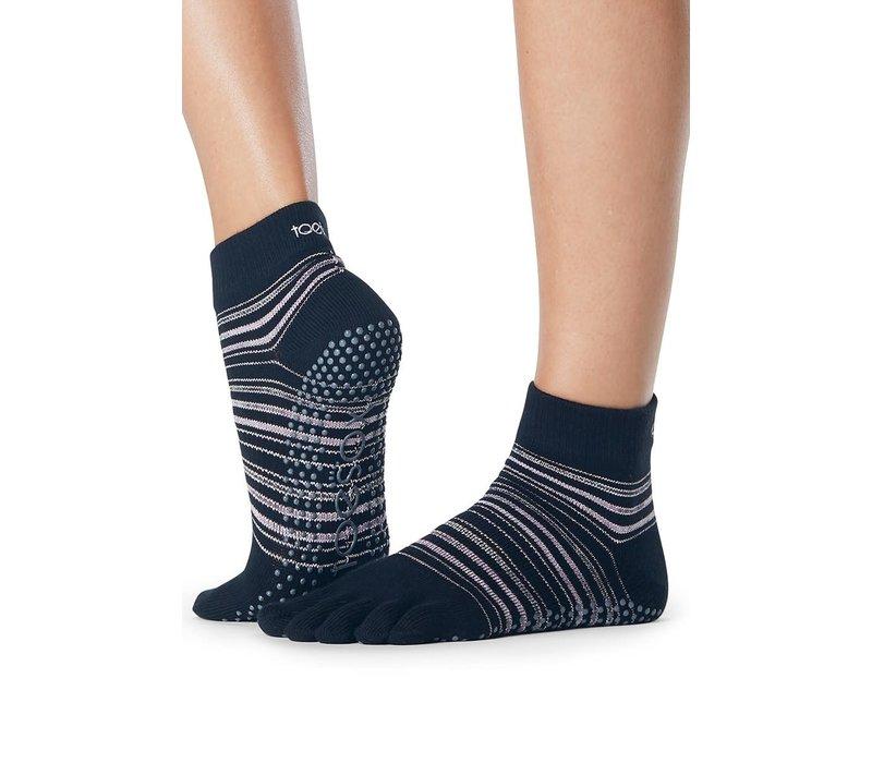 Toesox Yoga Sokken Enkelhoogte Dichte Tenen - Earthly