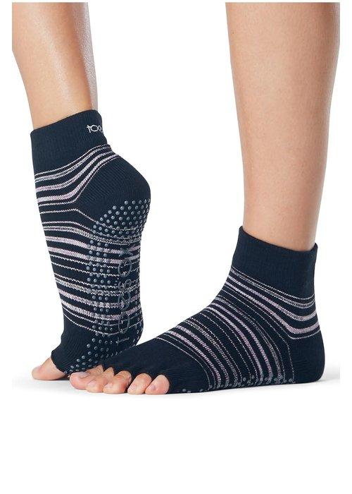 Toesox Toesox Yoga Sokken Enkelhoogte Open Tenen - Earthly